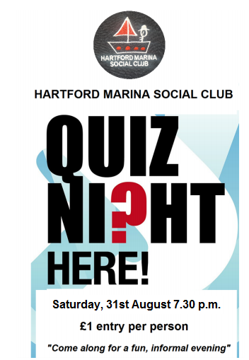 quiz night 31/08/2019